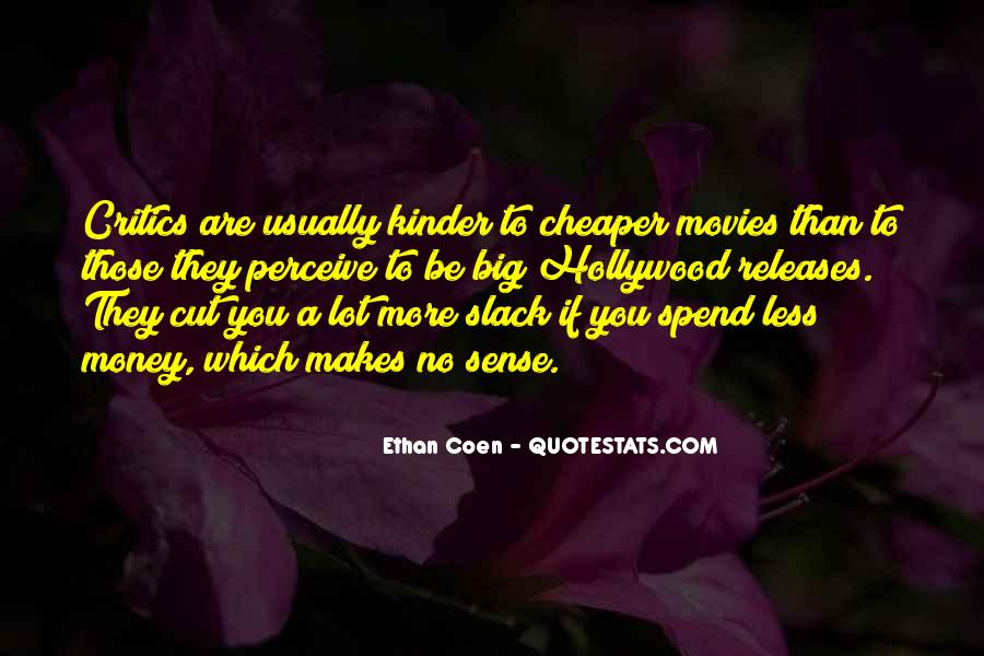 Quotes About Coen #134498