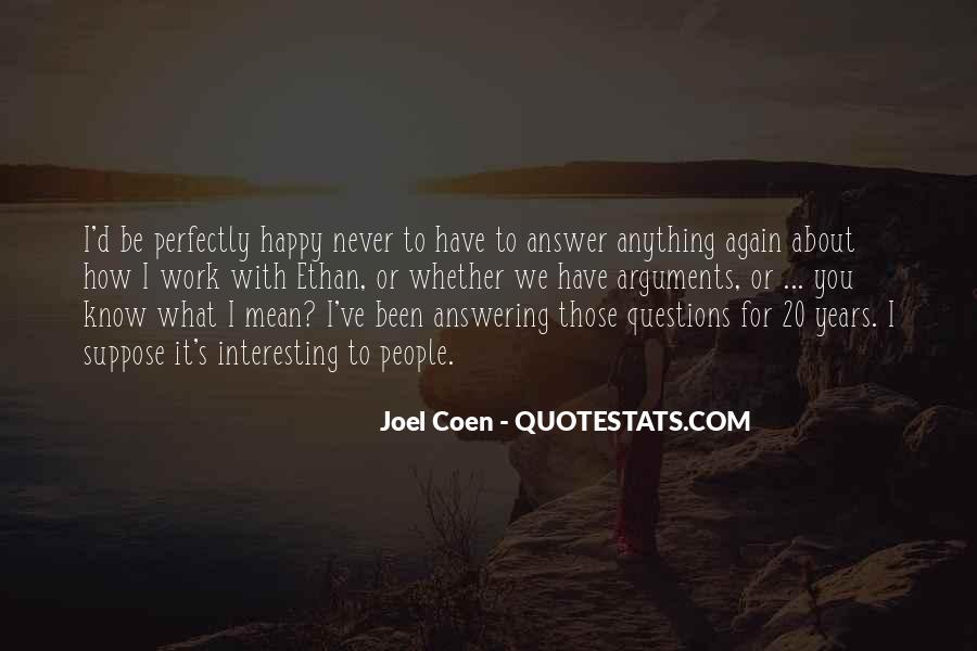 Quotes About Coen #1412795