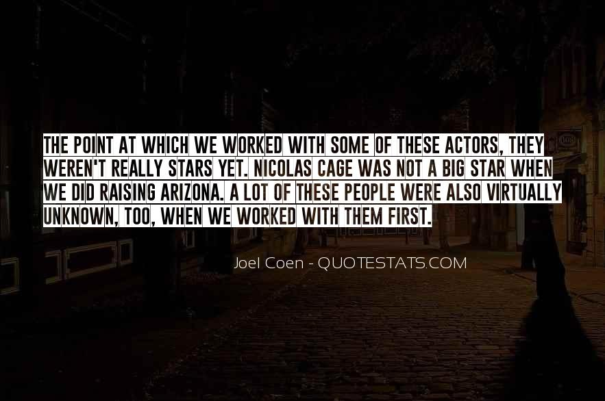 Quotes About Coen #1439149