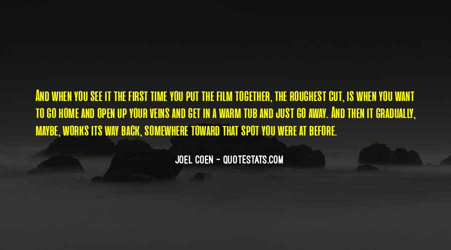 Quotes About Coen #1789170