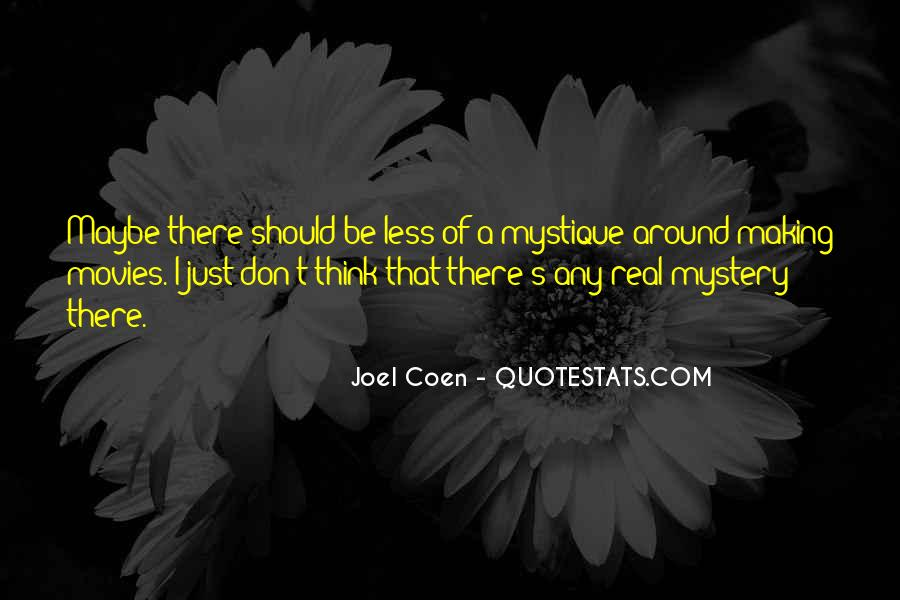 Quotes About Coen #1850214