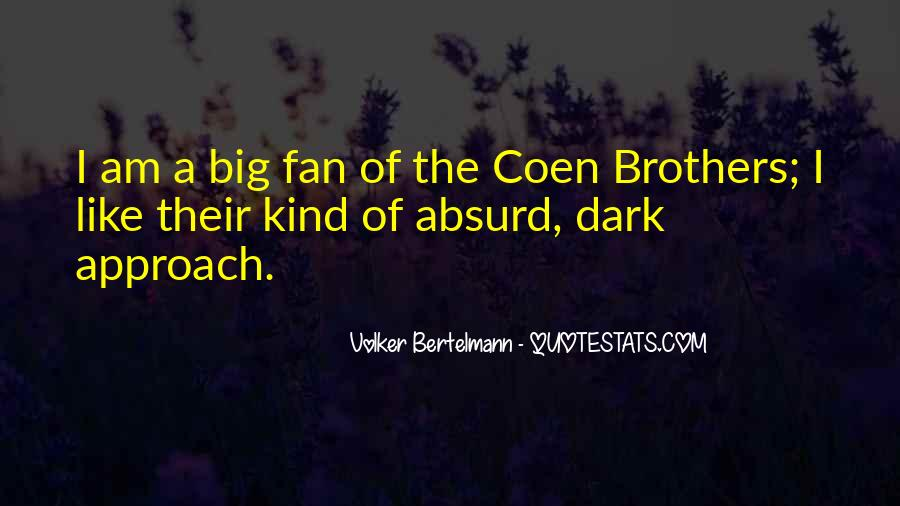 Quotes About Coen #323454