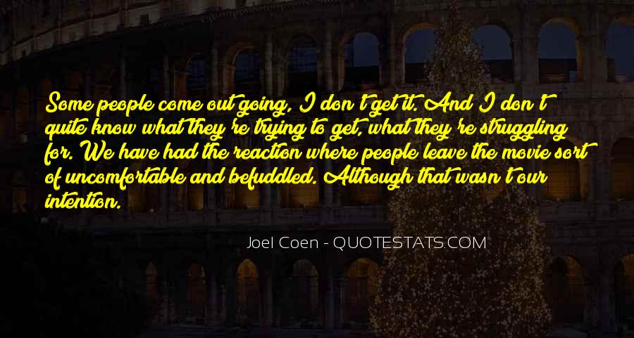Quotes About Coen #675270