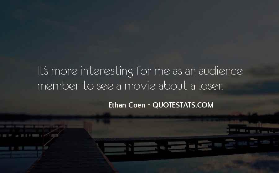 Quotes About Coen #782981