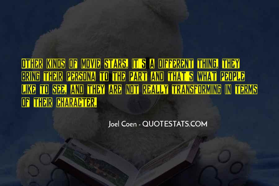 Quotes About Coen #843736