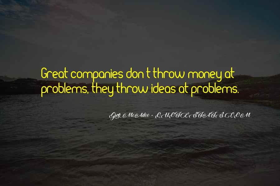 Money Is Not A Problem Quotes #44897