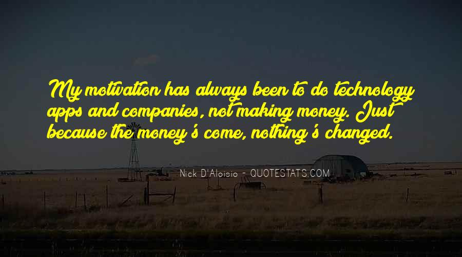 Money Making Motivation Quotes #1266492