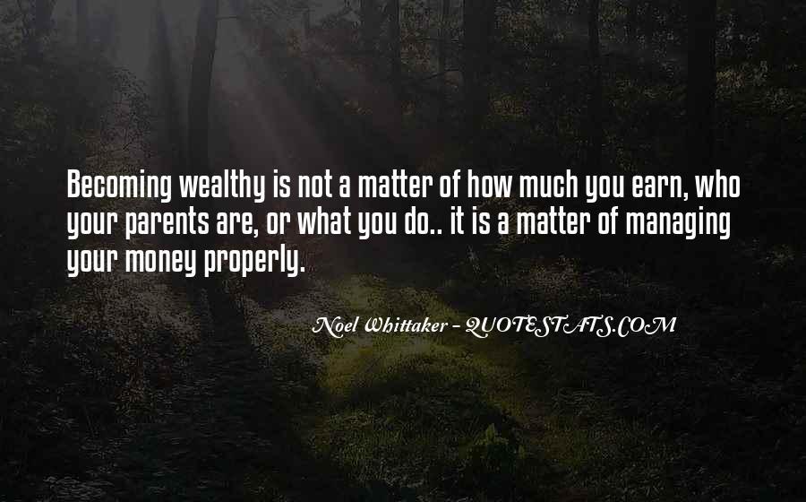 Money Managing Quotes #111484