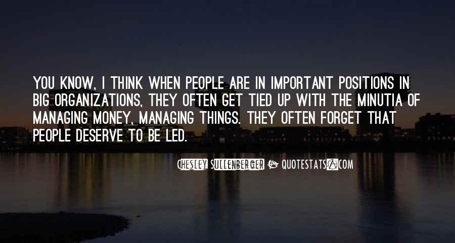 Money Managing Quotes #1741358