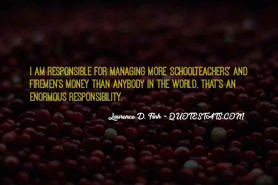 Money Managing Quotes #191533