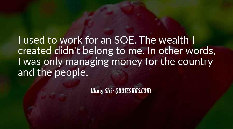 Money Managing Quotes #30032