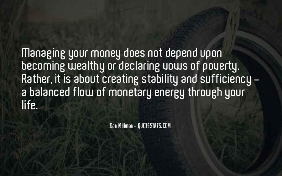 Money Managing Quotes #431646