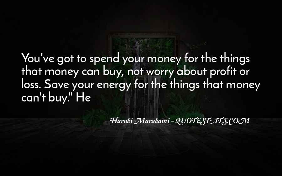 Money Save Quotes #489622