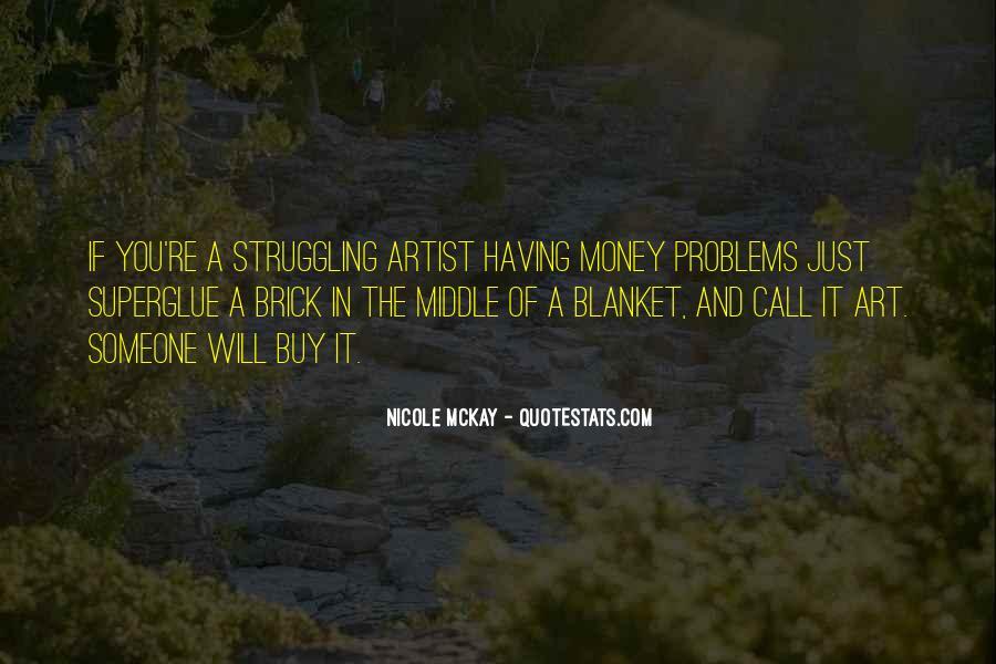 Money Struggling Quotes #804382