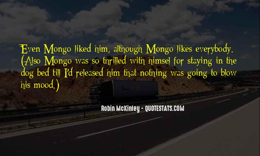 Mongo Quotes #1403155