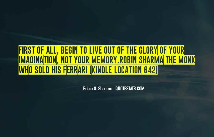 Monk Sold Ferrari Quotes #1656795