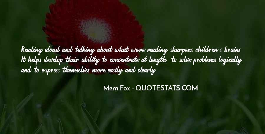 Quotes About Talking About Your Problems #1270509