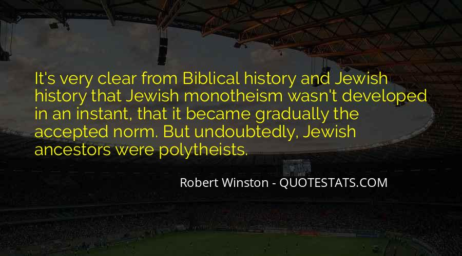 Monotheism Bible Quotes #334908