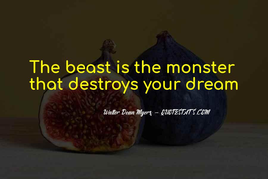 Monster By Walter Quotes #1344528
