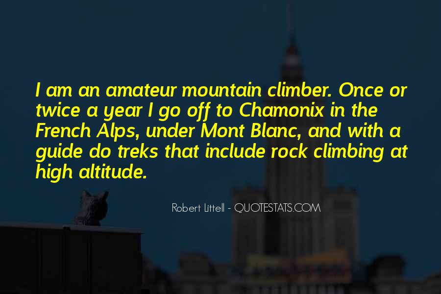 Mont Blanc Quotes #1090113