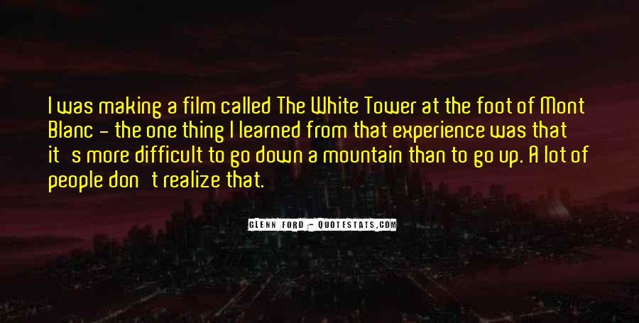Mont Blanc Quotes #719427