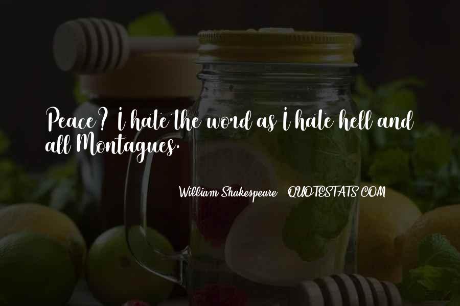 Montagues Quotes #1419381