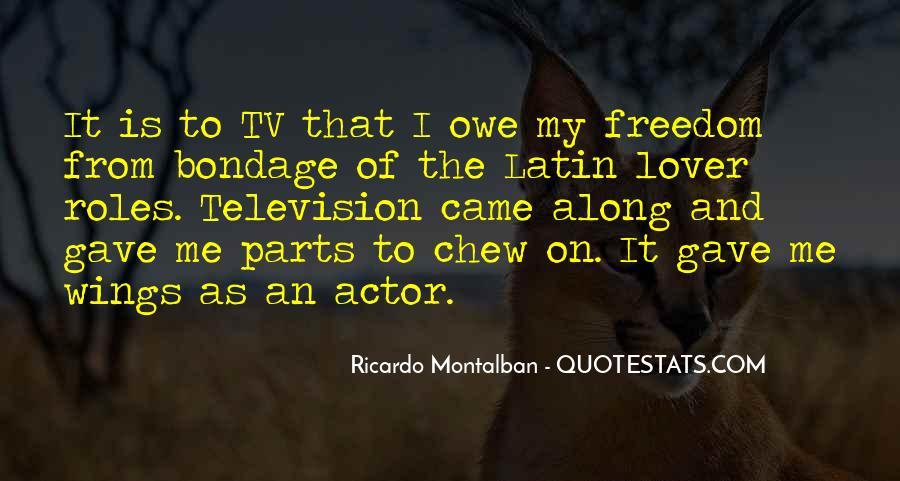 Montalban Quotes #1005609