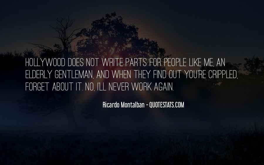 Montalban Quotes #1578262