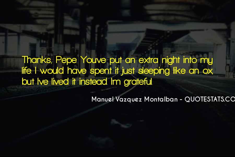 Montalban Quotes #1701793