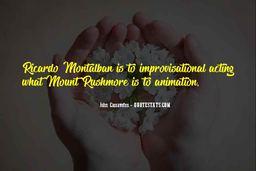 Montalban Quotes #331307