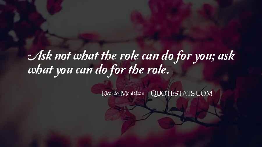 Montalban Quotes #814530