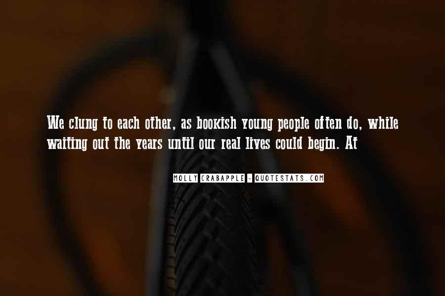 Quotes About Clung #123198
