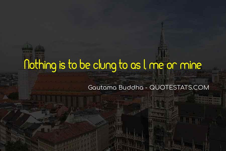 Quotes About Clung #259857