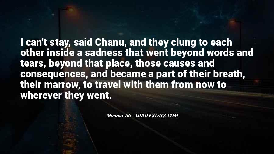 Quotes About Clung #879596