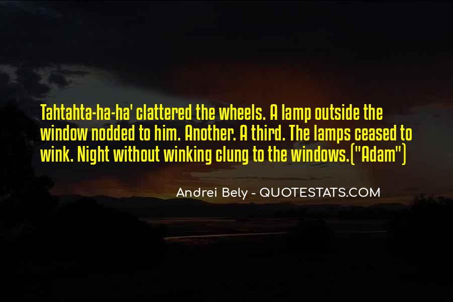 Quotes About Clung #896411