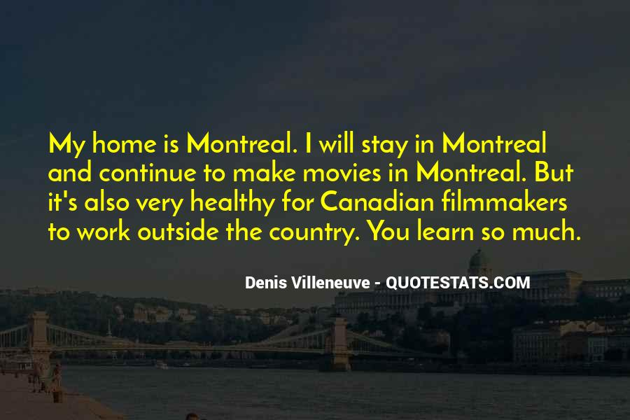 Montreal Canadian Quotes #1642933