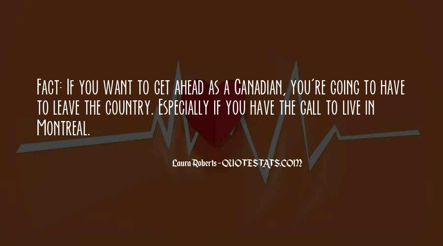 Montreal Canadian Quotes #1690408