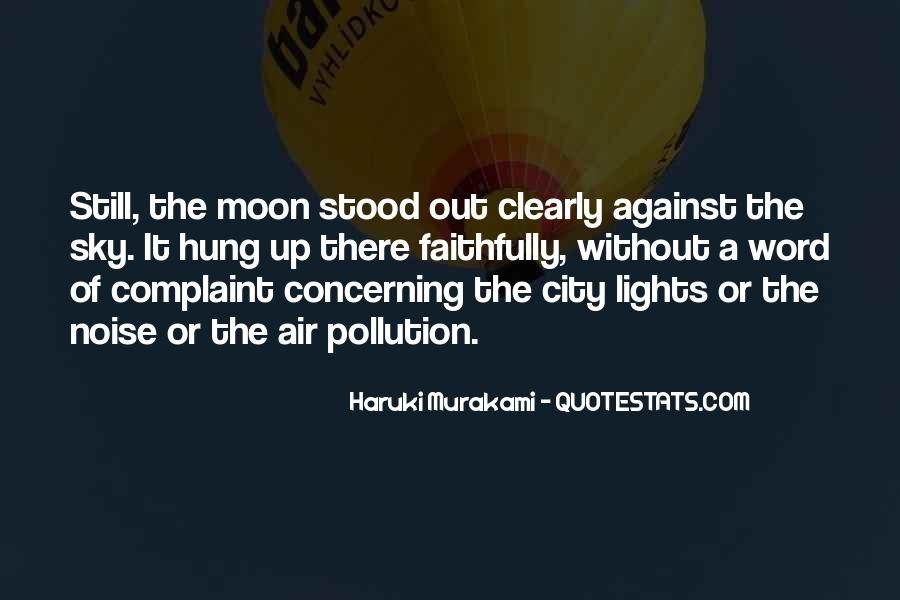 Moon Lights Quotes #118167