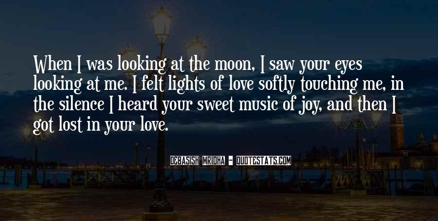 Moon Lights Quotes #1632879