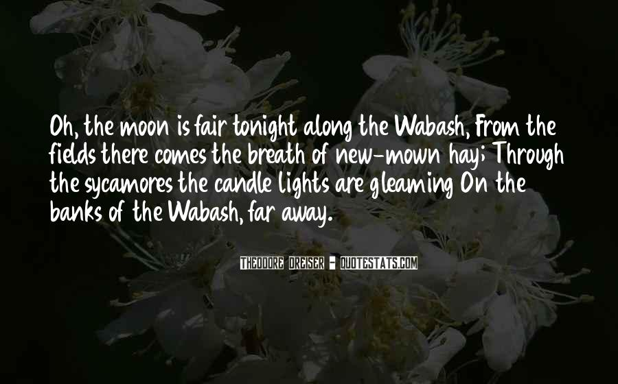 Moon Lights Quotes #1740337