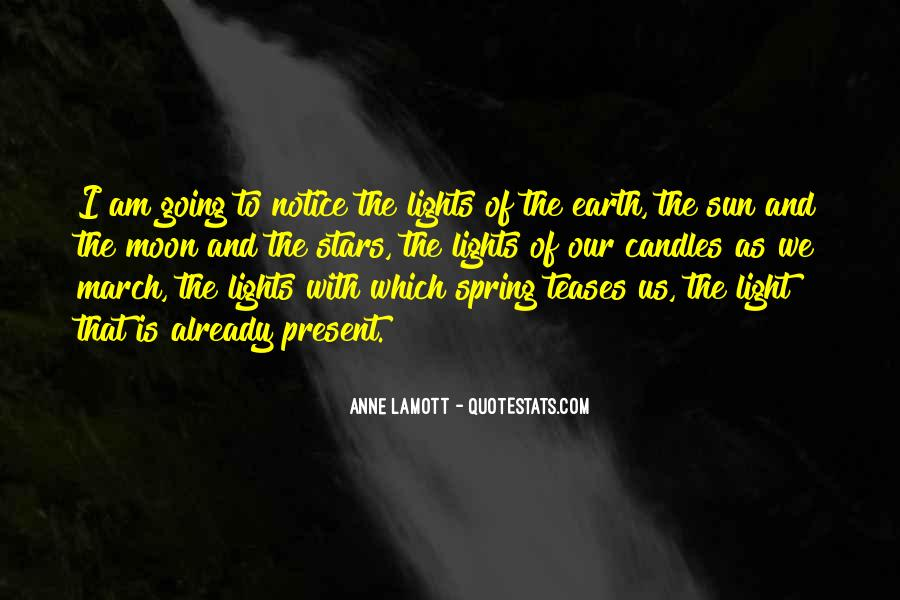 Moon Lights Quotes #1758612