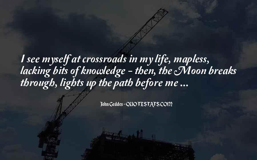 Moon Lights Quotes #780685