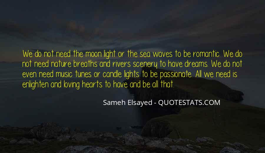 Moon Lights Quotes #967856