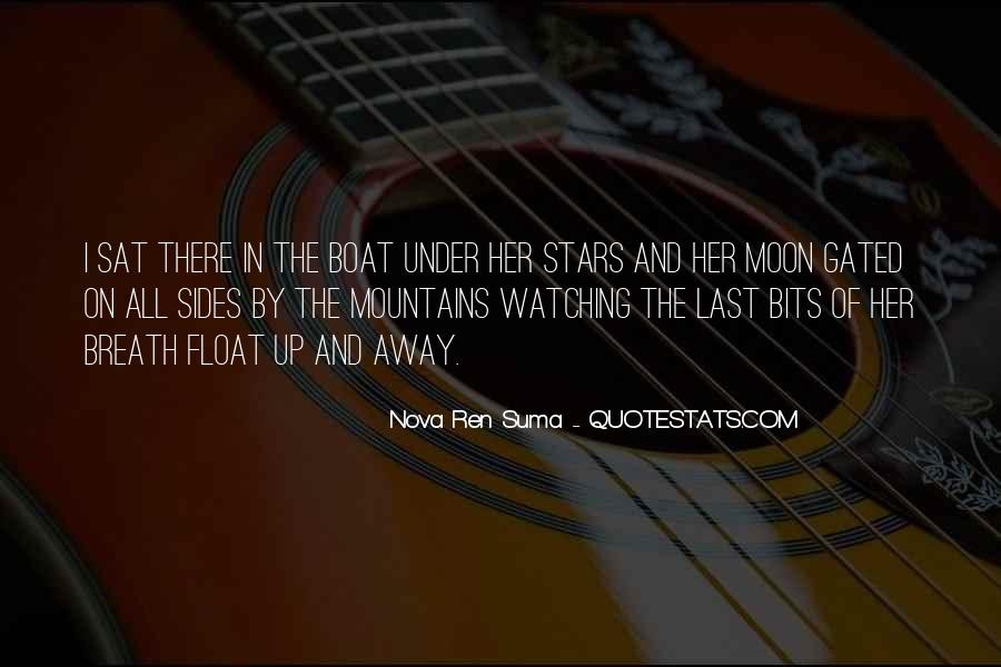 Moon Watching Quotes #1482859