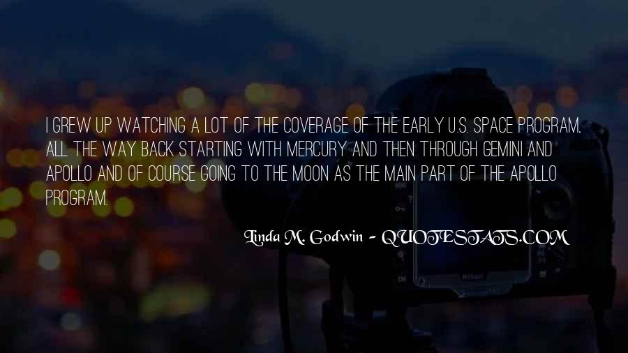 Moon Watching Quotes #324263