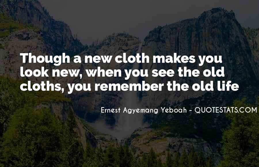 Quotes About Cloths #553381