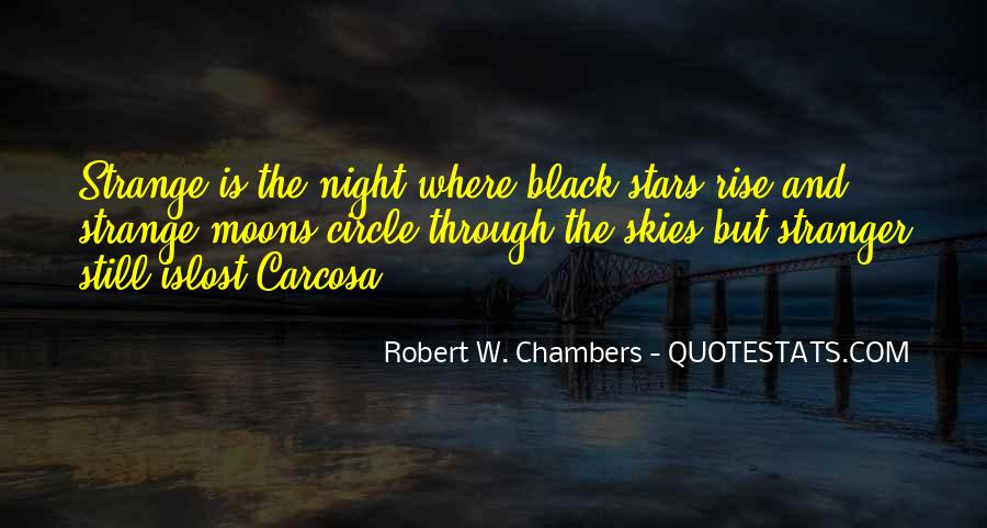 Moons And Stars Quotes #1473951