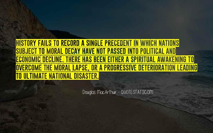 Moral Decline Quotes #1878233