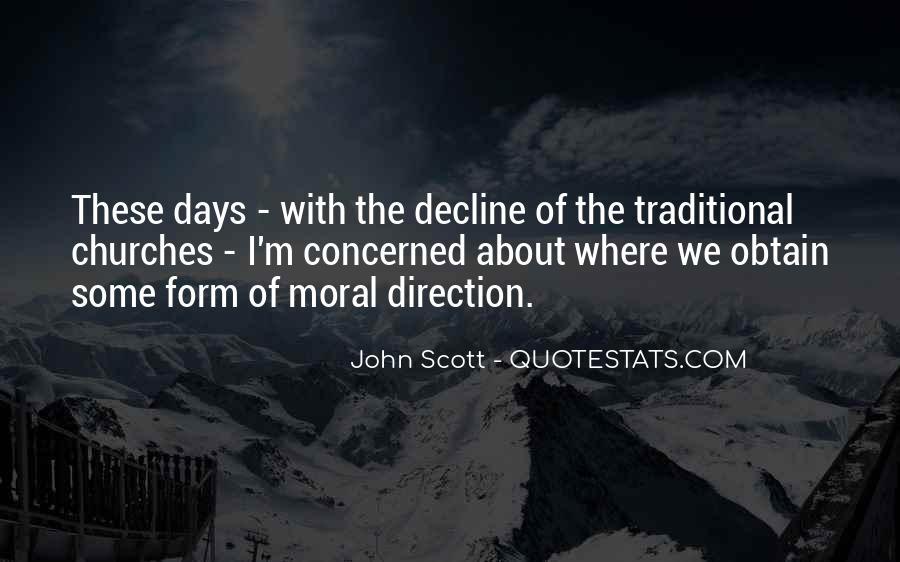 Moral Decline Quotes #605728