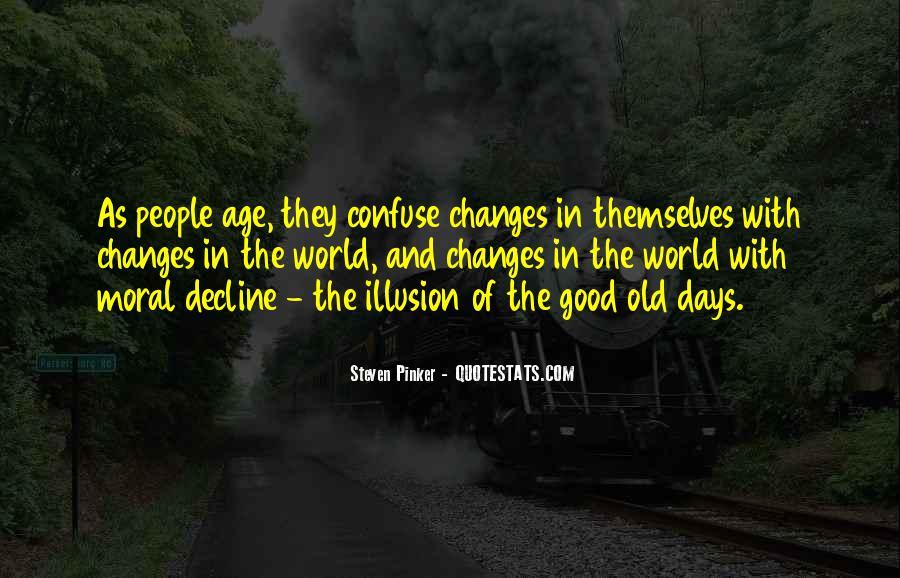 Moral Decline Quotes #902615